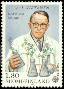 A.I. Virtanen postimerkissä