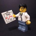 LEGO-lääkärillä selvästi EKG:n tulkinta hallussa