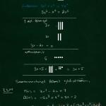 Polynomien yhteen- ja vähennyslasku
