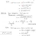 Toisen asteen polynomi tekijöihin nollakohtien avulla, tulostus