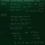 N-asteisen polynomiyhtälön ratkaiseminen, esim 1-2