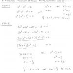 N-asteisen polynomiyhtälön ratkaiseminen, esim 1-2, tulostus