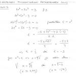 N-asteisen polynomiyhtälön ratkaiseminen, esim 3, tulostus