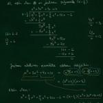 N-asteisen polynomiyhtälön ratkaiseminen, esim 4