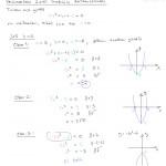 MAA2, Toisen asteen yhtälö, kun b=0, tulostusversio