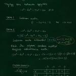 Esimerkki N-asteisesta polynomiepäyhtälöstä