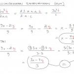 Rationaalilausekkeen sieventäminen, esim. 1-2, tulostus