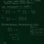 Rationaaliyhtälö: teoriaa ja esim 1