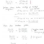 Rationaaliyhtälö: esim 3, tulostus