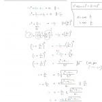 Toisen asteen yhtälön ratkaisukaavan johtaminen, tulostusversio