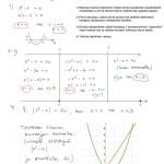 Esimerkki: ratkaistaan |x²-x| = 2x lokeroimalla, tulostusversio