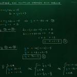 Yhtälöryhmä, kun yhtälöitä vähemmän kuin muuttujia