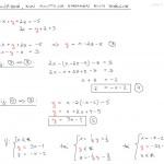 Yhtälöryhmä, kun yhtälöitä vähemmän kuin muuttujia, tulostusversio