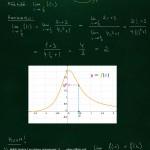 Raja-arvon laskeminen jatkuvalle funktiolle