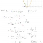 Esimerkkejä derivaatan h-määritelmän käytöstä, tulostus