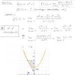 Derivaatta kohdassa raja-arvon avulla, 2. aste, tulostus