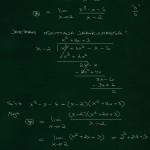 Derivaatta kohdassa raja-arvon avulla, 3. aste