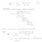 Derivaatta kohdassa raja-arvon avulla, 3. aste, tulostus