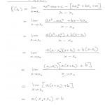 Derivointikaavan johtaminen 2. asteen polynomeille, tulostus