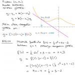 Tangenttisuoran yhtälö, tulostus
