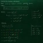 MAA8, Yhdistetyn funktion derivaatta, muistiinpanot