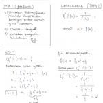 Käänteisfunktion derivaatta, tulostus