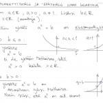 Eksponenttiyhtälöiden teoriaa, tulostus