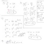 Eksponenttiyhtälö ilman logaritmia, tulostus