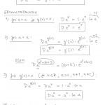 Eksponenttifunktion derivaatta: teoriaa, tulostus