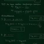 Logaritmifunktion derivaatta: teoriaa