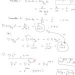 Logaritmifunktion derivaatta: esimerkkejä, tulostus