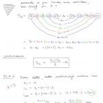 Aritmeettisen lukujonon summa, tulostusversio